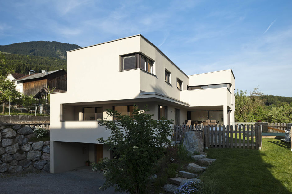 Einfamilienhaus l form innenarchitektur und m bel for Einfamilienhaus l form