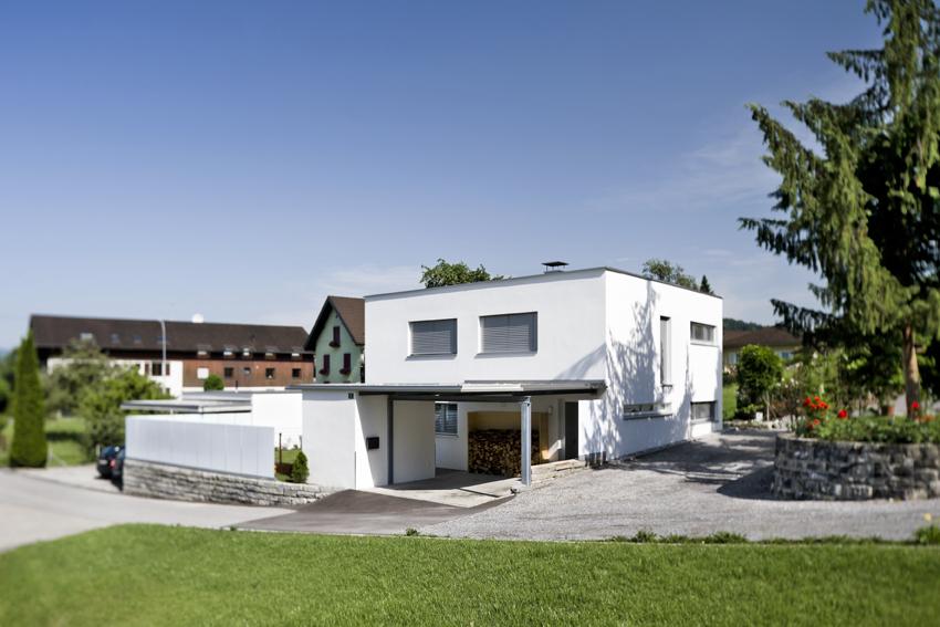 Einfamilienhaus weiler eingeschossig bungalow moderne Living wohnen